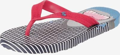 Tom Joule Zehentrenner 'Blue Stripe Shark' in blau / rot / weiß, Produktansicht