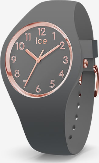 ICE WATCH Uhr in rosegold / grau, Produktansicht