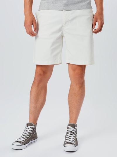 NU-IN Kalhoty - offwhite: Pohled zepředu