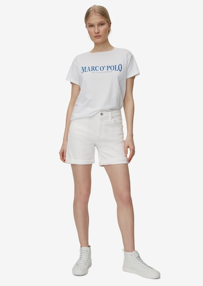 Marc O'Polo Shorts in naturweiß, Modelansicht