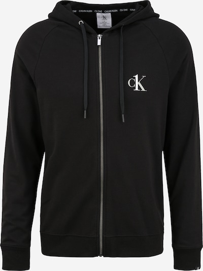 Calvin Klein Underwear Pantalon folklorique en noir, Vue avec produit