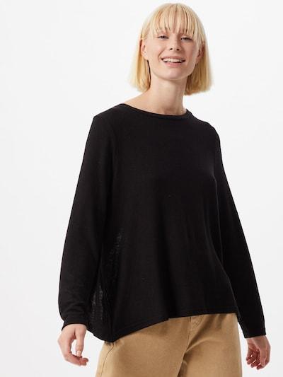 Pulover 'Mayea' ONLY pe negru: Privire frontală