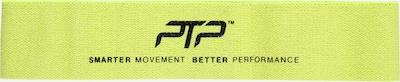 PTP Band in de kleur Neongeel / Zwart, Productweergave