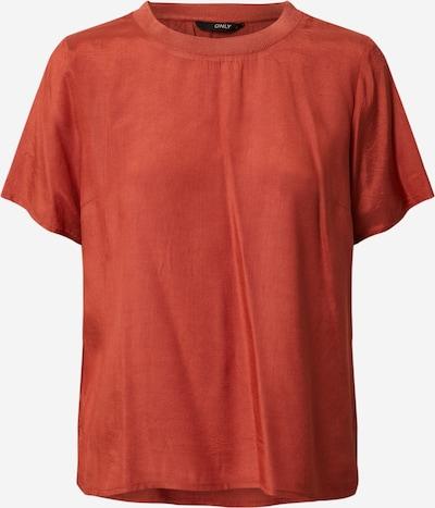 ONLY Shirt 'ONLZANA S/S TOP WVN' in rot, Produktansicht