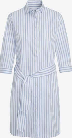 SEIDENSTICKER Kleid 'Schwarze Rose' in rauchblau / weiß, Produktansicht