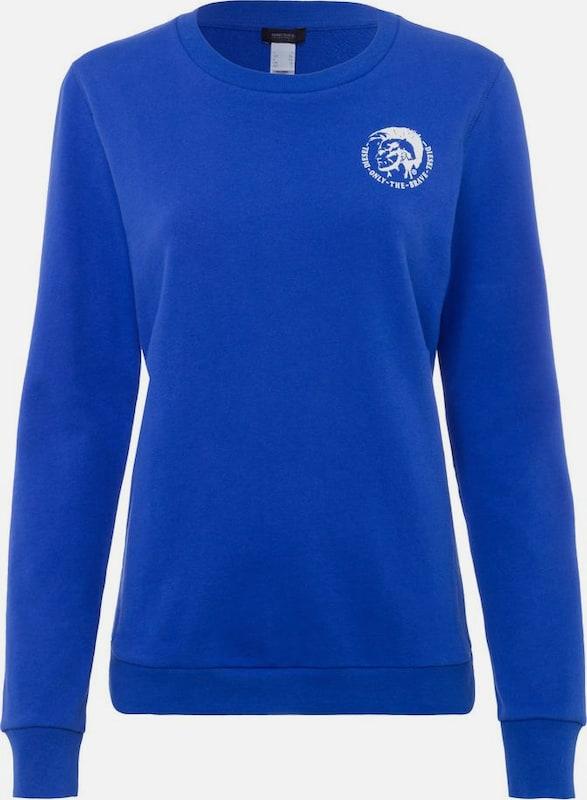 DIESEL Sweatshirt 'UFLT-Willa' in blau  Mode neue Kleidung