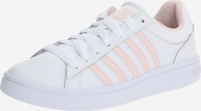 K-SWISS Zemie apavi 'Court Winston' pieejami rožkrāsas / balts, Preces skats