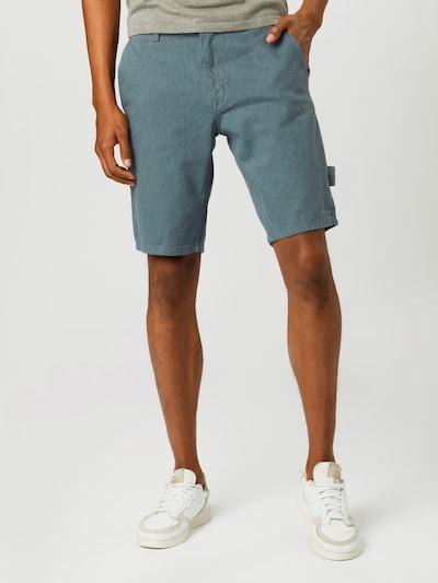 NU-IN Jeans 'CARPENTER' in de kleur Blauw denim, Modelweergave