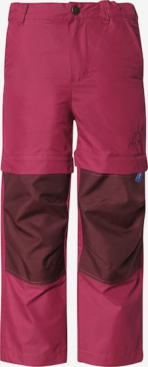 FINKID Outdoorhose 'Urakka' in beere / pink, Produktansicht