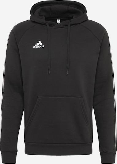 ADIDAS PERFORMANCE Sportsweatshirt 'Core 18' in de kleur Zwart / Wit, Productweergave