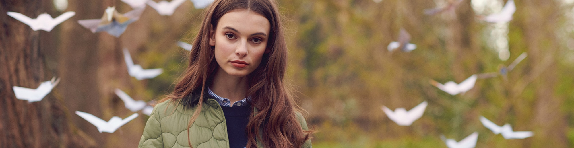 Barbour Brand header