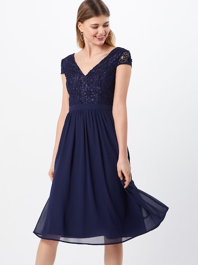 Chi Chi London Kleid 'Halsey' in navy, Modelansicht
