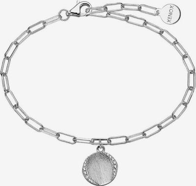 XENOX Silberarmband 'Leaf XS1899' in silber, Produktansicht