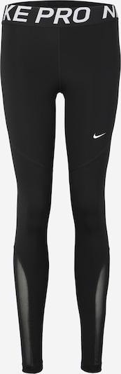 Pantaloni sport 'Nike Pro' NIKE pe negru / alb, Vizualizare produs