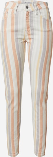 Mavi Gestreifte Jeans in beige / blau / orange, Produktansicht