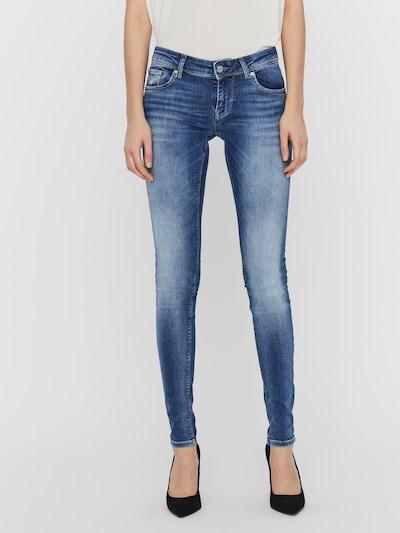 VERO MODA Low Waist Slim Fit Jeans 'VMLEXY' in blue denim, Modelansicht