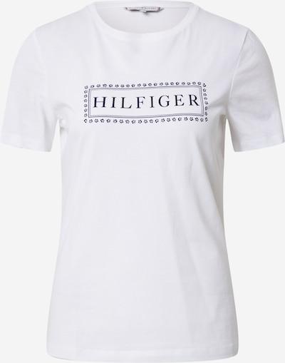 TOMMY HILFIGER Shirt 'CLEO REGULAR C-NK TOP SS' in weiß, Produktansicht