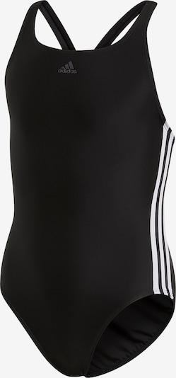ADIDAS PERFORMANCE Badeanzug 'Fit Suit 3S' in schwarz / weiß, Produktansicht