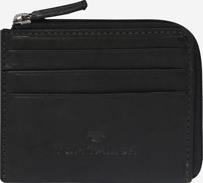 TOM TAILOR Kabatas portfelis 'LARY' melns, Preces skats