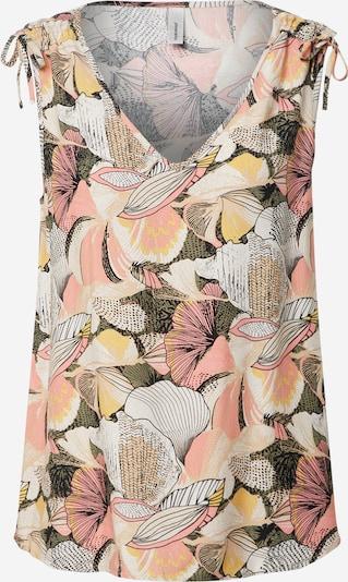 Bluză Soyaconcept pe culori mixte / piersică, Vizualizare produs