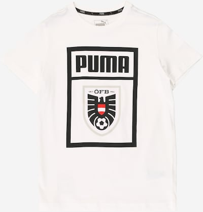 PUMA Sport-Shirt in weiß: Frontalansicht