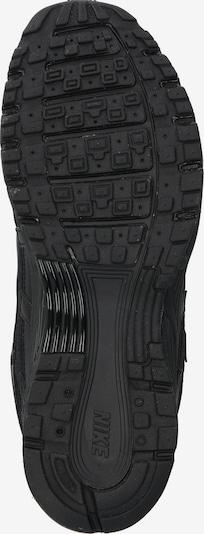 Nike Sportswear Zemie apavi 'Nike P-6000' pieejami melns: Skats no apakšas