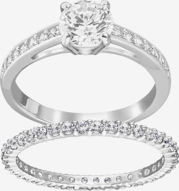Swarovski Jewelry Set 'I do' in Silver