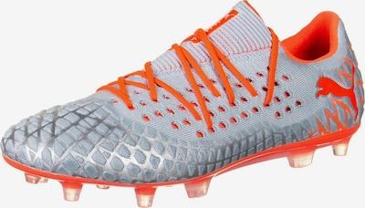 PUMA Fußballschuh in graumeliert / neonrot, Produktansicht