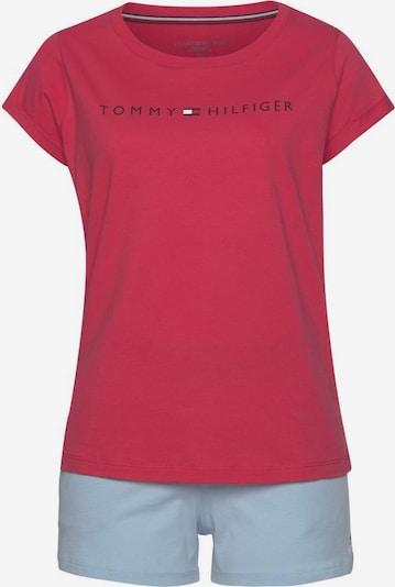 TOMMY HILFIGER Pyjama in hellblau / rot, Produktansicht