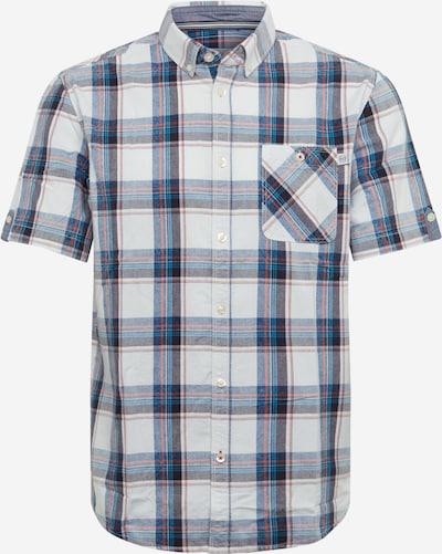 TOM TAILOR Overhemd in de kleur Gemengde kleuren / Wit, Productweergave