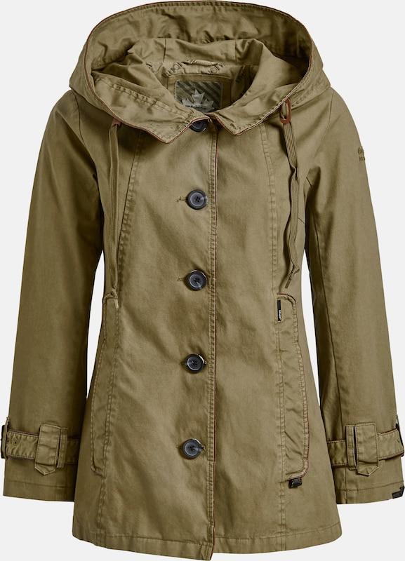 Khujo Jacke 'Nuyded2' in oliv  Markenkleidung für Männer und Frauen