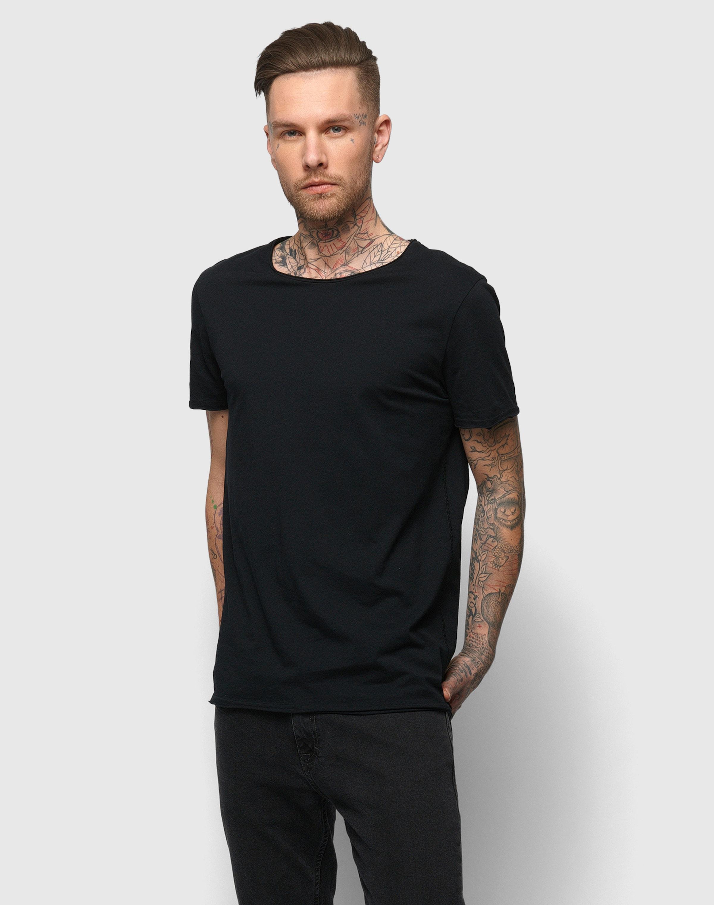shirt Drykorn T 'kendrick' En Noir PnOkXNZ80w
