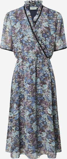 Moves Kleid in blau / hellblau / lila, Produktansicht