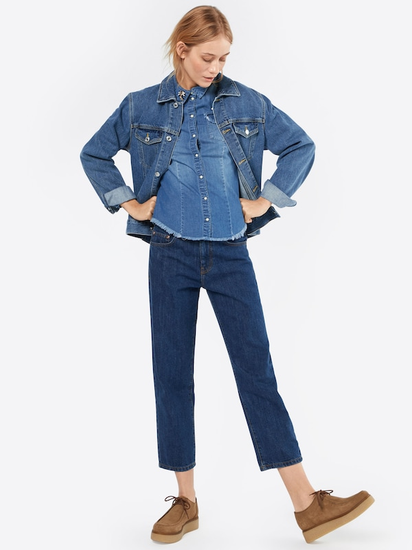 Only Jeans Bluse Onlrock It Fit
