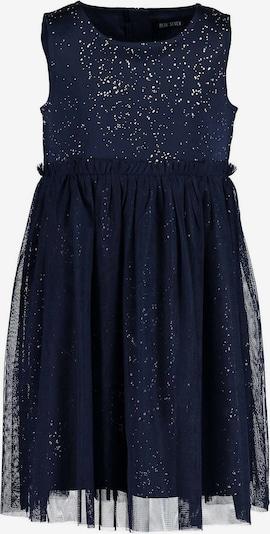 BLUE SEVEN Kleid in nachtblau / weiß, Produktansicht