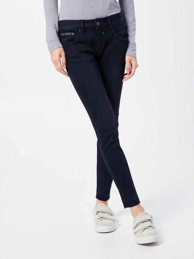 Herrlicher Jeans 'Touch Cropped' in schwarz, Modelansicht
