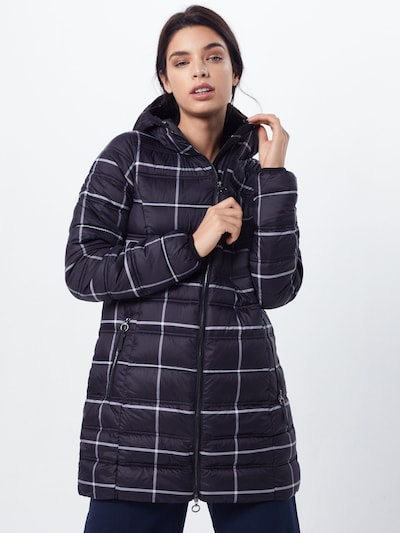 STREET ONE Wintermantel in de kleur Zwart, Modelweergave