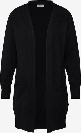 JACQUELINE de YONG Cardigan 'Day' in schwarz: Frontalansicht