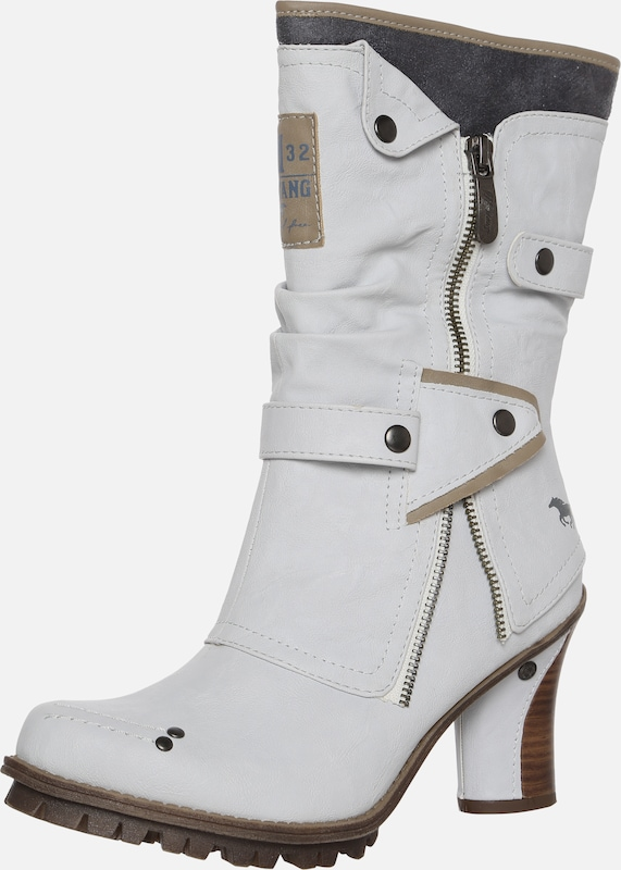 MUSTANG Stiefel in offwhite | ABOUT YOU