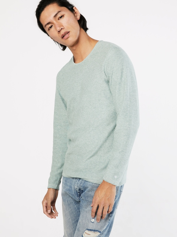 NOWADAYS Strickpullover 'The Reverse Crew'