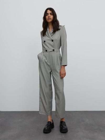 EDITED Jumpsuit 'Leanne' in grau, Modelansicht