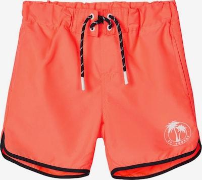 NAME IT Badeshorts in orange, Produktansicht