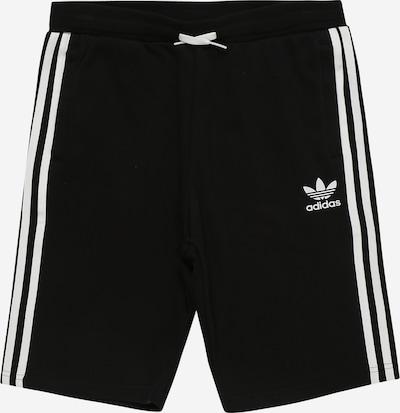 ADIDAS ORIGINALS Trousers in black / white, Item view