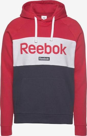 REEBOK Sportsweatshirt in dunkelblau / rot, Produktansicht