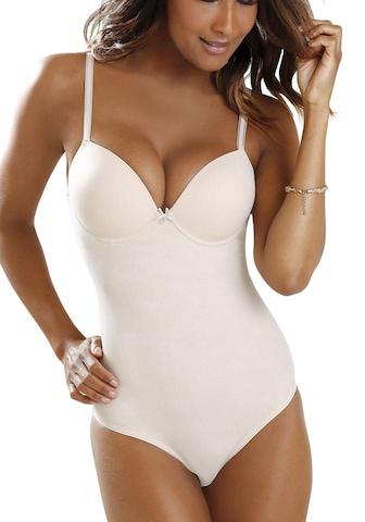 LASCANA Bodysuit in Beige