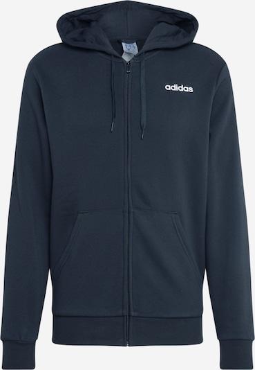 ADIDAS PERFORMANCE Sportska sweater majica u crna / bijela, Pregled proizvoda