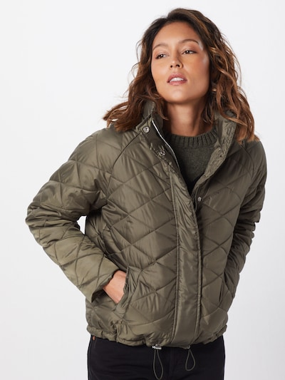 ABOUT YOU Jacke 'Adena' in khaki: Frontalansicht