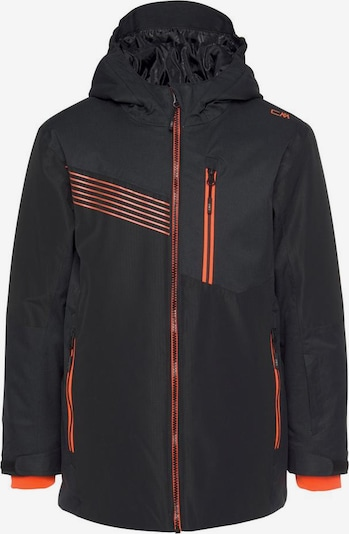 CMP Skijacke 'Fix' in orange / schwarz, Produktansicht
