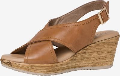 JANA Sandalette in braun, Produktansicht
