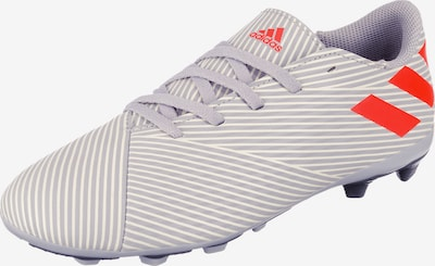 ADIDAS PERFORMANCE Fußballschuh 'Nemeziz' in grau / hellrot / weiß, Produktansicht